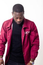 Load image into Gallery viewer, Mens Burgundy Jacket - Ukiyo LDN