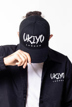 Load image into Gallery viewer, Black Distressed Hat - Ukiyo LDN