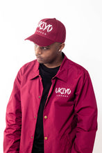 Load image into Gallery viewer, Burgundy Distressed Hat - Ukiyo LDN