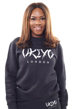 Load image into Gallery viewer, Womens Black Tracksuit - Ukiyo LDN