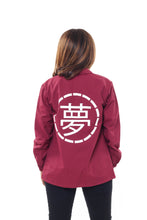 Load image into Gallery viewer, Womens Burgundy Jacket - Ukiyo LDN