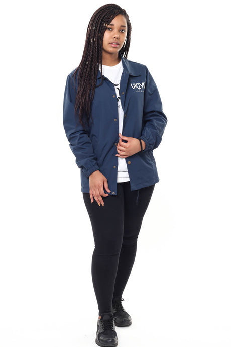 Womens Navy Jacket - Ukiyo LDN