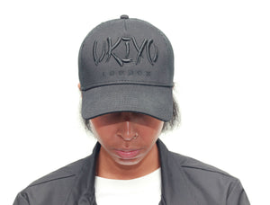 Black Trucker Hat - Ukiyo LDN