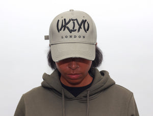 Khaki Distressed Hat - Ukiyo LDN