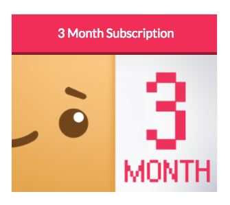 Boxychan - Girl Box Jr. - 3 Month Subscription