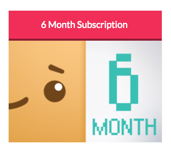 Boxychan - Girl Box Jr. - 6 Month Subscription