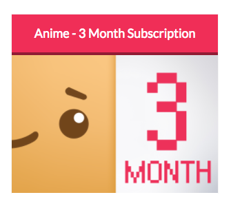 Anime Theme - 3 Month Subscription