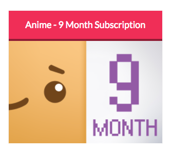 Anime Theme - 9 Month Subscription