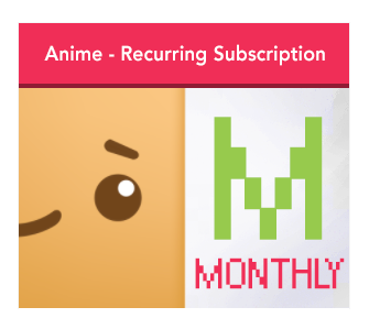 Anime Theme - Monthly Subscription