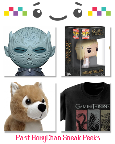 Game Of Thrones Mystery Gift Set
