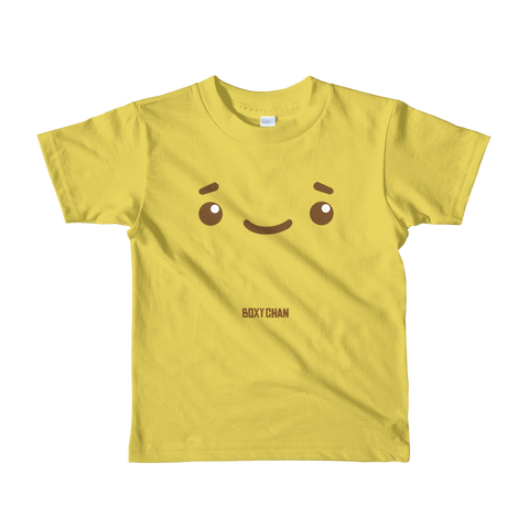 Boxychan - Smile (Short sleeve Kids T-shirt)