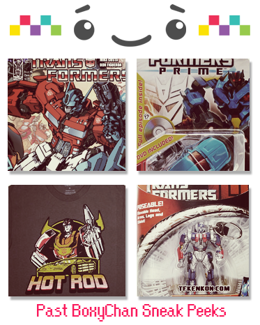 Transformers Mystery Box - 3 Month Subscription