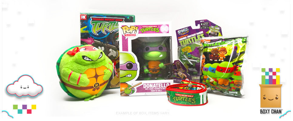 Mystery Gift Box TMNT