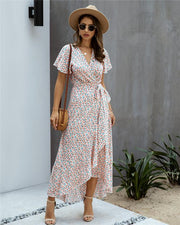 Legs For Days Floral Print Summer Dress
