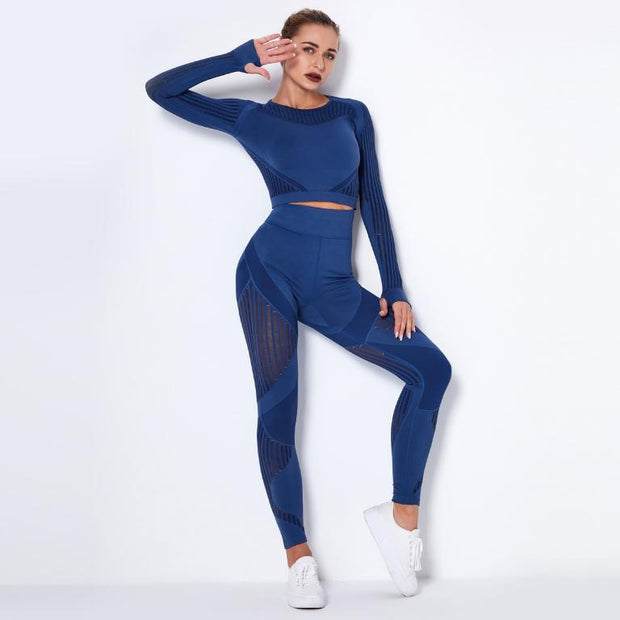Seamless Quick-Drying Yoga Suit