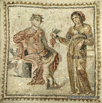 IMPORTANT LARGE MOSAIC GROUP, 2ND - 3RD CENTURY A.D.