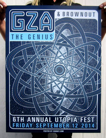 GZA & Brownout Poster