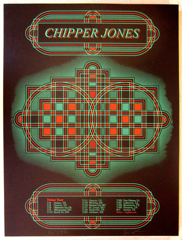 Chipper Jones Tour Poster 2014