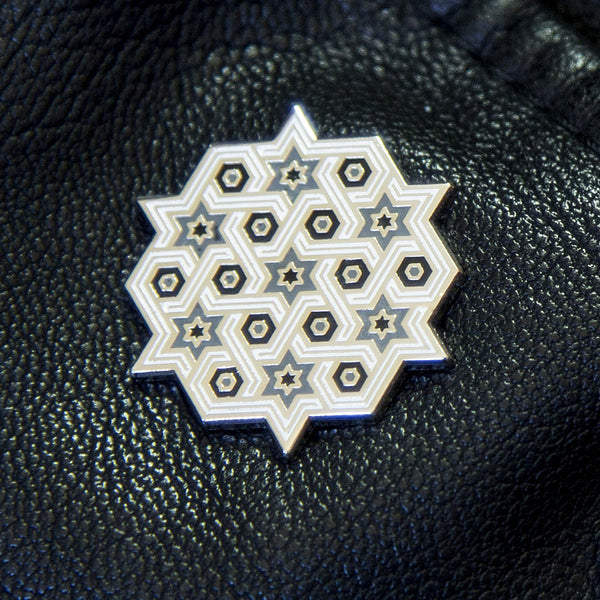 SOLD OUT - Hexagram Recruitment Pin