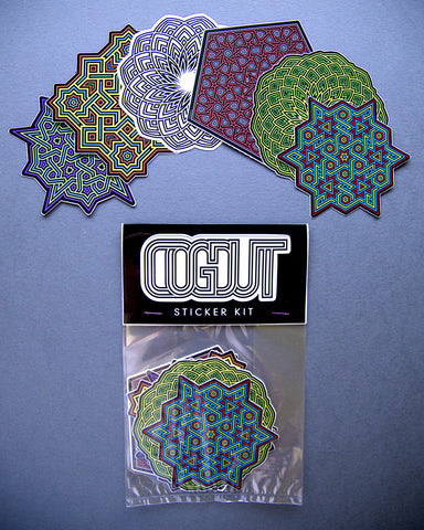 CogDut Sticker Kit