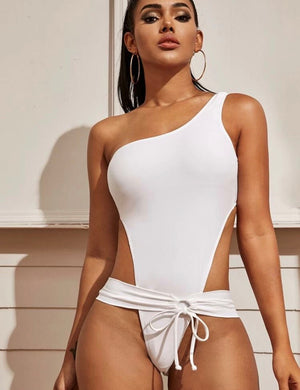 All White One Piece