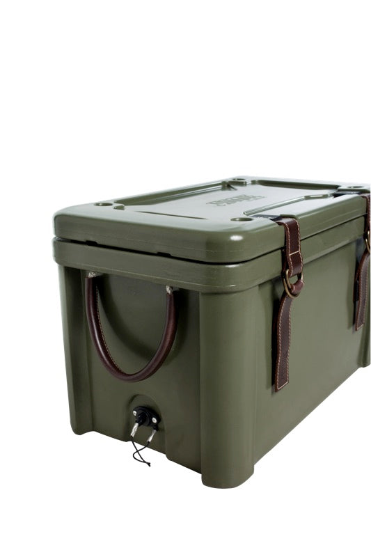 -ROUGE ICE COOLERS-<br>45Lローグアイスクーラー キャンバスシート<br>45L Rogue Ice Cooler with canvas seat