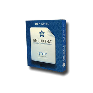 "ENLUXTRA Self-Adaptive Wound Dressing 6""x 6""(15x15cm) Box of 5 Dressings AWD-5-1515"