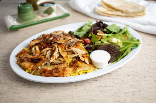Chicken Shawarma Platter - Single Item