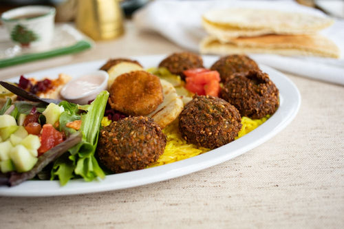 Falafel Plate - Single Item