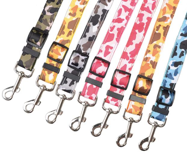 Ceinture pour chien motif Camouflage thepetcompanystore