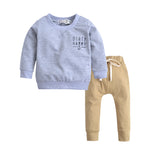2pc boys Sweater and Khaki trouser set