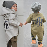 Newborn Boys Warm Outerwear