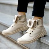 Casual High Top Canvas Boots