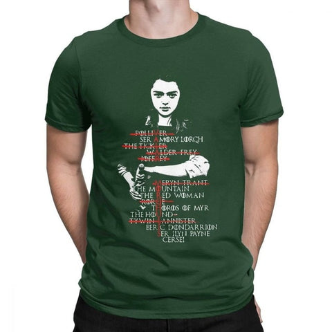 Arya Stark T-shirt (Game Of Thrones)