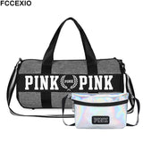 Women Travel Bags Love Pink