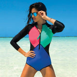 2018 One Piece Swimsuit Long Sleeve Swimwear Bathing Suit (sale)