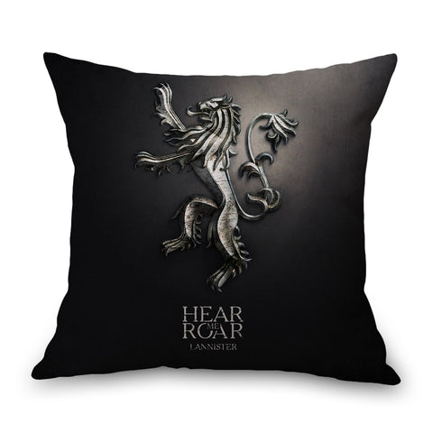 Game of Thrones Lannister Neck Body Pillowcase