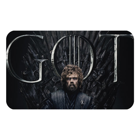Game of Thrones Main Characters on Throne Doormat
