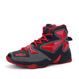 Lebron James white Basketball Sneakers