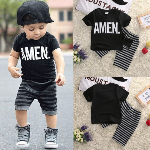 2 piece boys Toddler Set