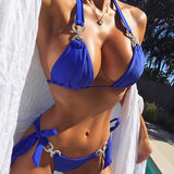 Bikini Diamond Swimsuit Crystal women