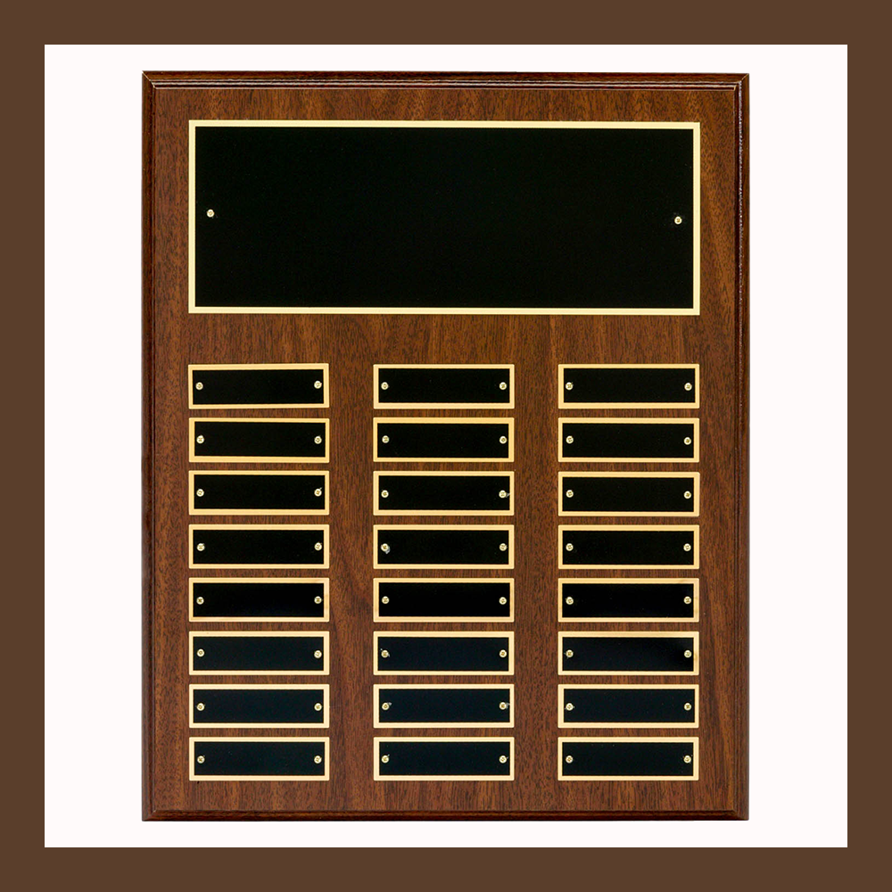 24-Plate Large Classic Perpetual Plaques