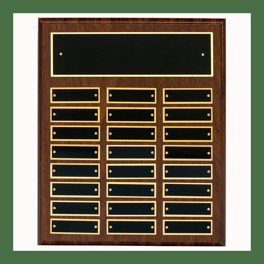 24-Plate Classic Perpetual Plaques