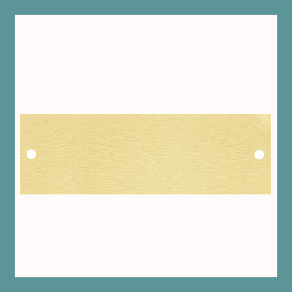 "3.25"" x 1"" 