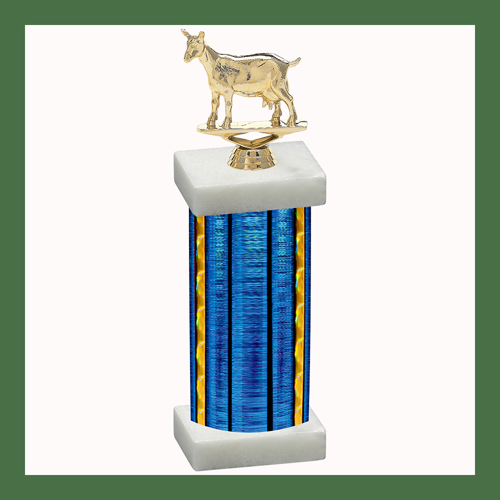 4H & Animal Column Trophy