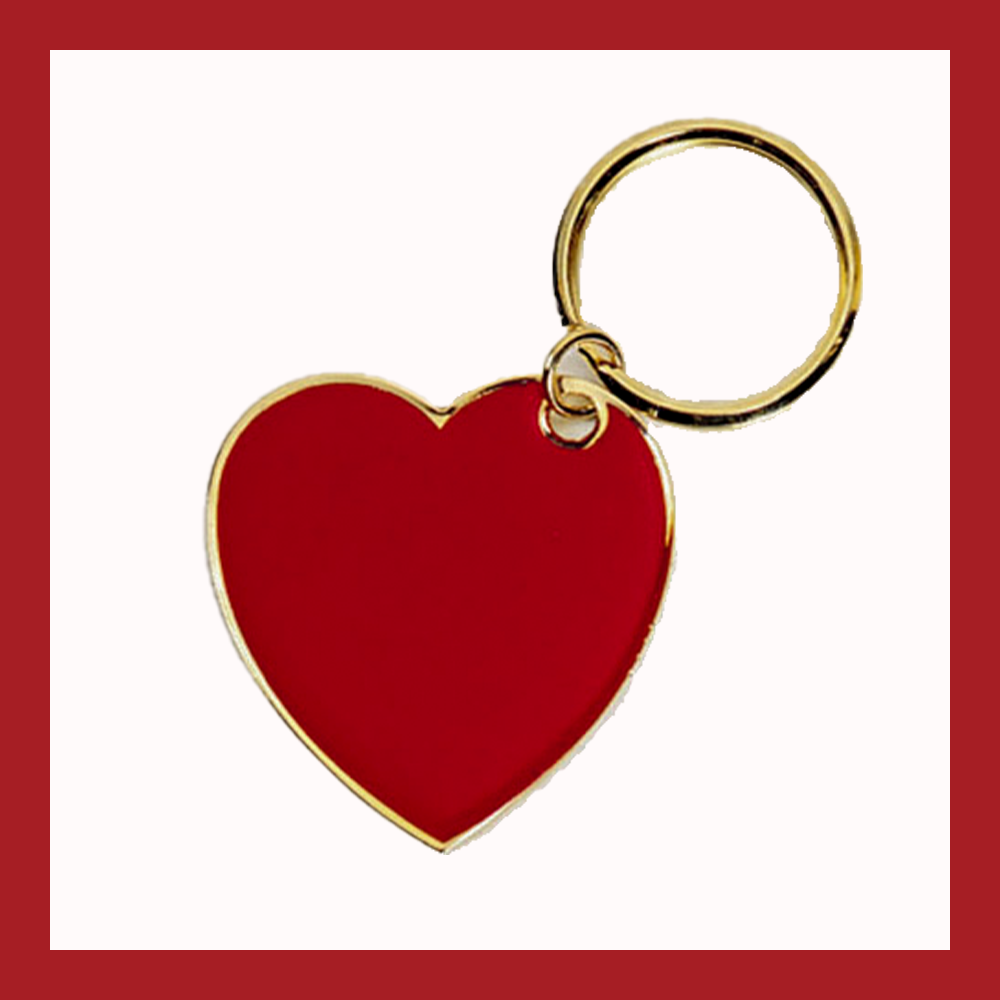 Heart for Frontline Heroes Keychain