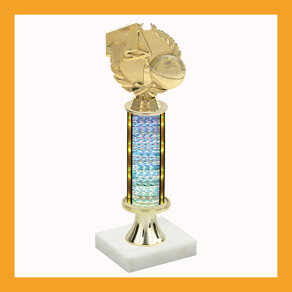 Basketball Pedestal Trophy