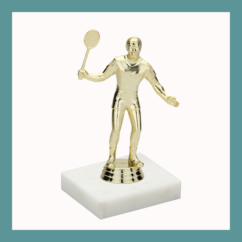 Badminton Figurine Trophy