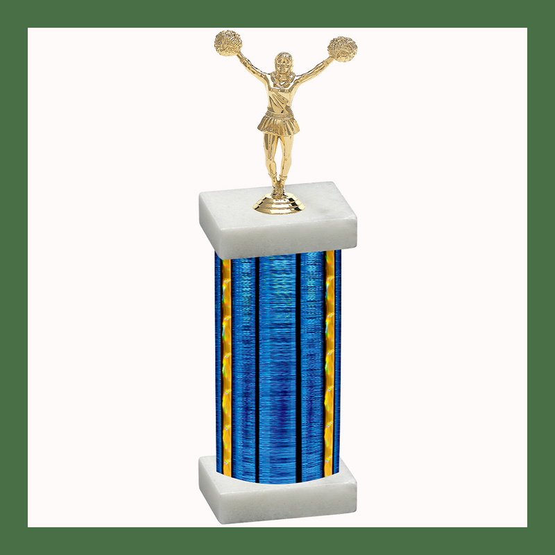 Cheerleading Column Trophy-Copy