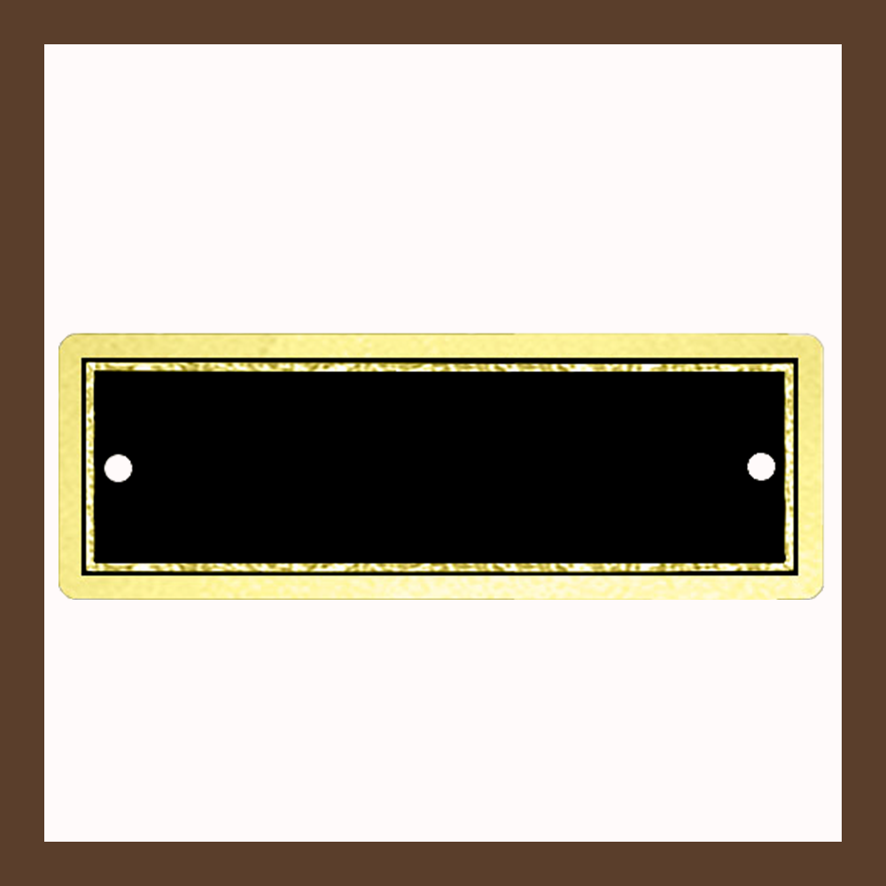 "3"" x 1"" 